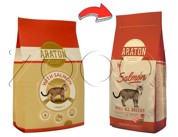 Araton Cat Adult Salmon & Chicken 1.5 кг