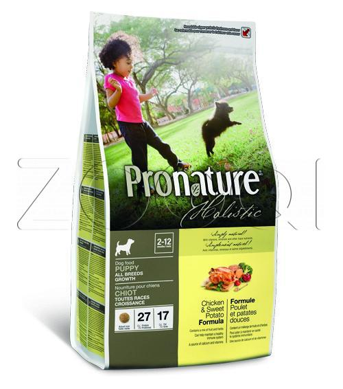 Pronature Holistic Puppy Chicken & Sweet Potato All Breed 13,6 кг