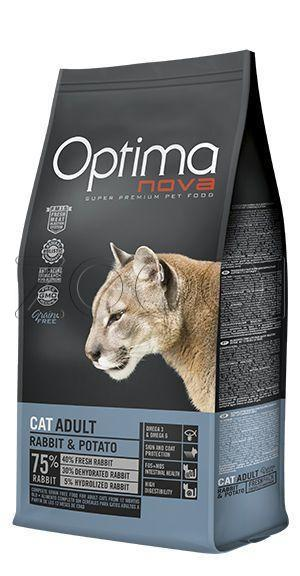 Optima Nova Cat Adult Rabbit Potato