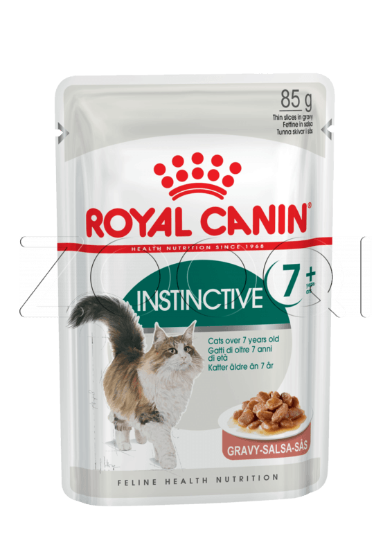 Royal Canin Instinctive +7 (в желе), 85 гр
