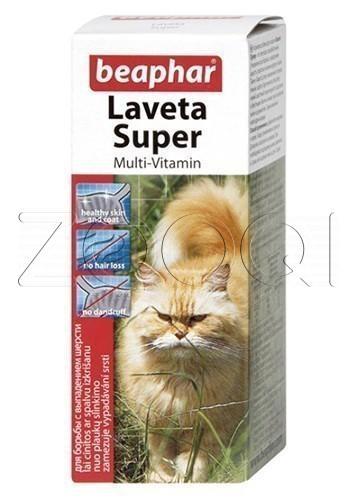 Витамины для шерсти Laveta Super for Cats, 50 мл