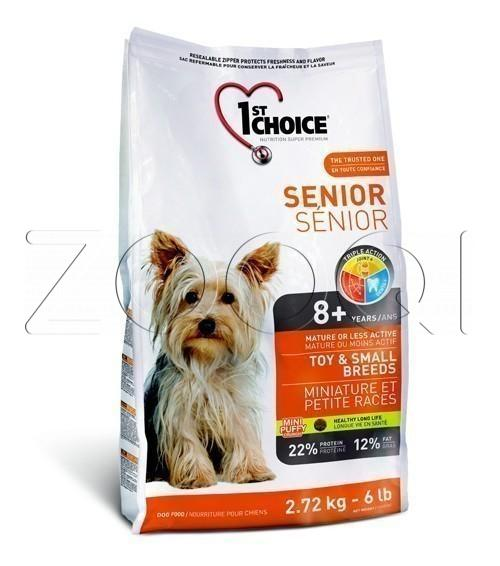 1ST CHOICE Senior Toy & Small Breed 2,72 кг