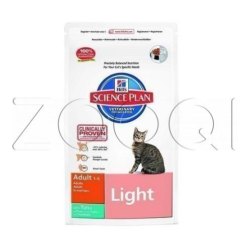 Hills Science Plan Feline Adult Light Тuna (Тунец) - 1,5 кг