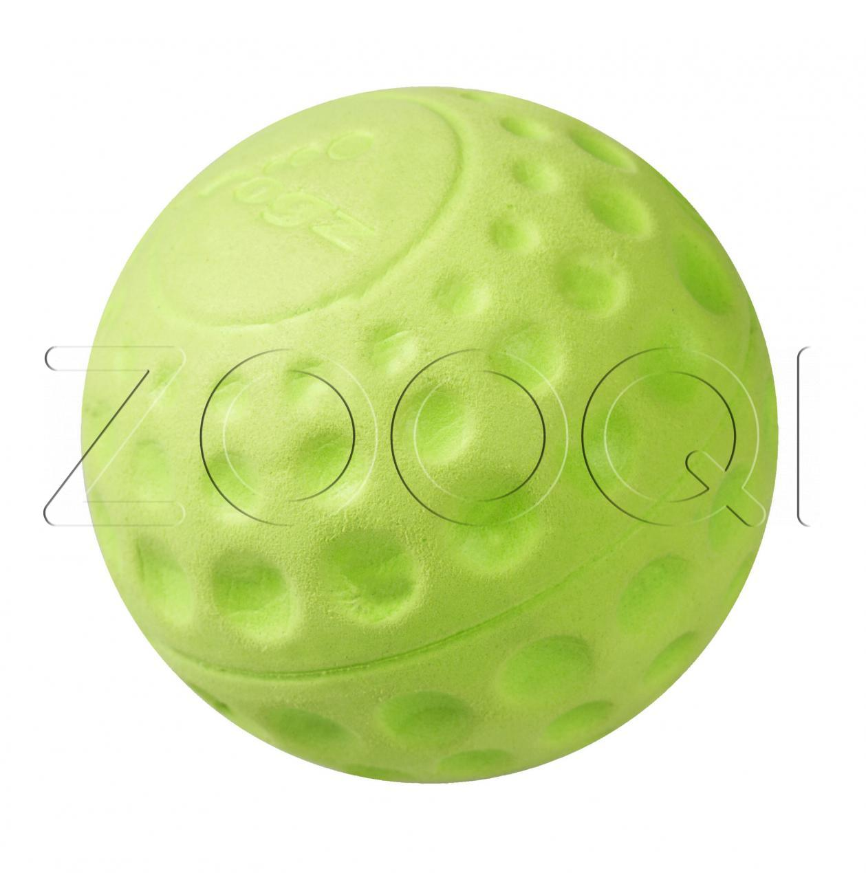Игрушка мячик Rogz Asteroidz Large Lime (диаметр 7,8 см), материал SEBS