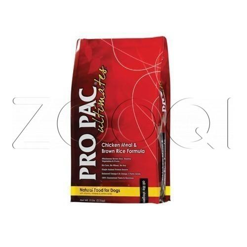Pro pac ultimates dog chicken & brown rice 20 кг