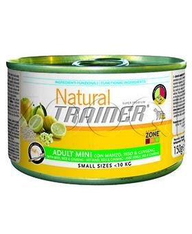 Trainer Natural Adult Mini Beef & Rice & Ginsen 0.4 кг