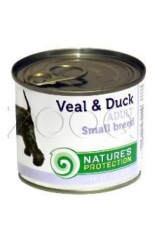 NP Adult Small Breed Veal & Duck (Телятина, утка) - 200 гр
