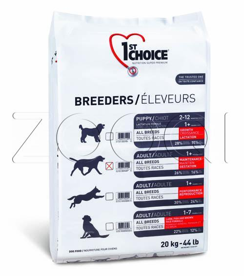 1ST CHOICE Breeders Medium&Maxi Adult 20 кг