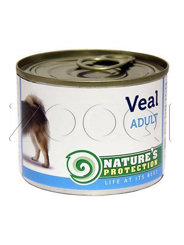 Nature's Protection Dog Adult Veal (Телятина) - 800 гр