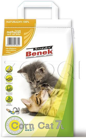 "Super Benek ""Corn Cat"" кукурузный без запаха - 25 л."