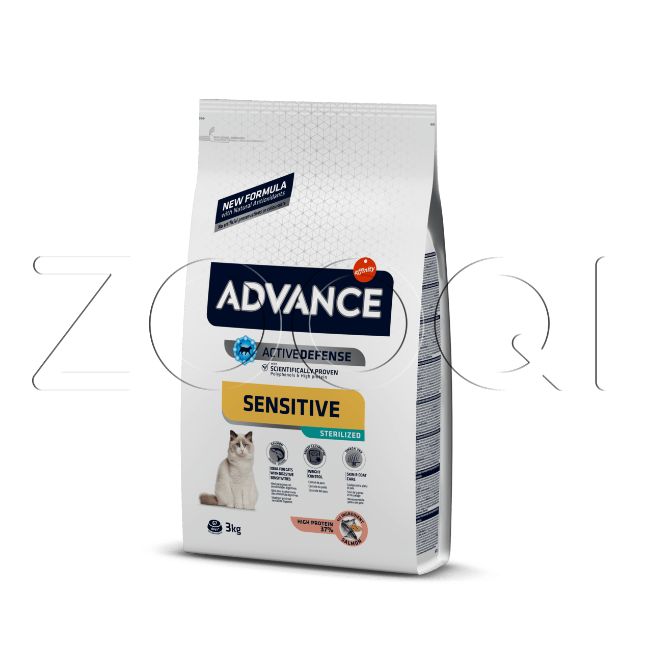 Advance Cat Streilized Sensitive Salmon