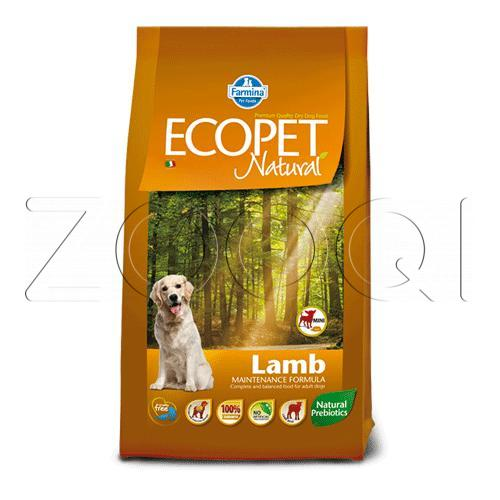 Farmina Ecopet Natural Lamb Mini (Ягненок), 12 кг