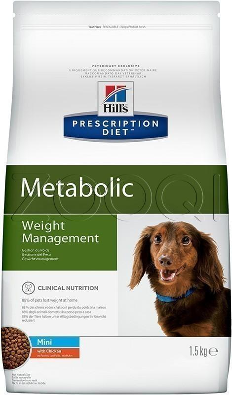 Hill's Prescription Diet Metabolic Mini Weight Management 1,5 кг