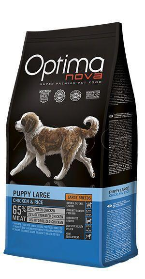 Optima Nova Puppy Large Chicken&Rice