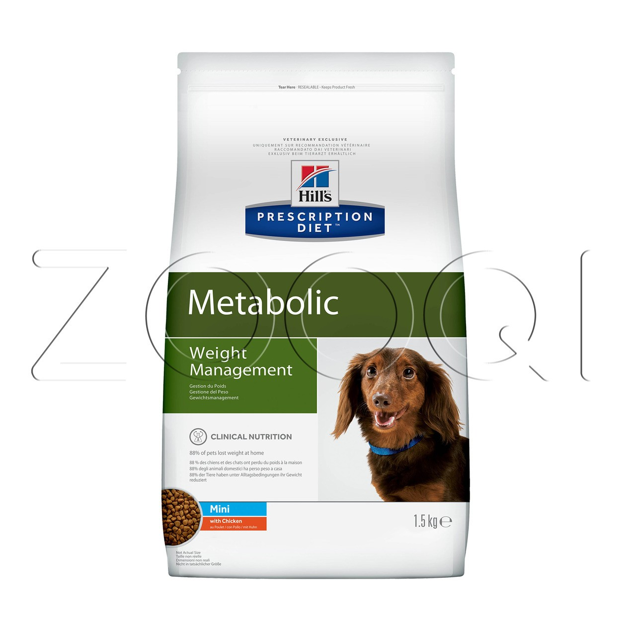 Hill's PD Metabolic Mini Weight Management 1,5 кг