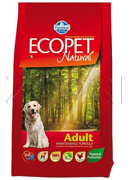 Farmina Ecopet Natural Adult (с курицей) - 12 кг