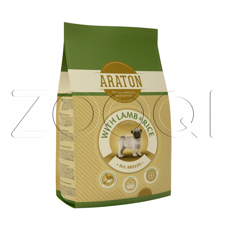 Araton Junior Lamb & Rice 3 кг