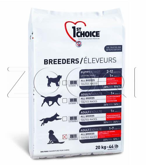 1ST CHOICE Breeders Skin & Coat Adult All Breed 20 кг