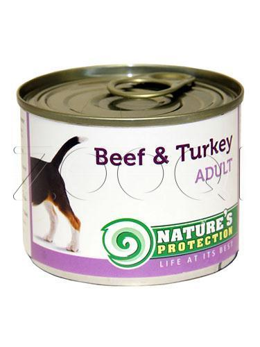 Nature's Protection Dog Adult Beef & Turkey (Говядина, индейка) - 200 г