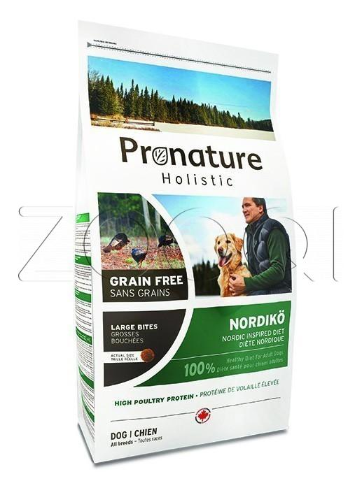 Pronature Holistic GF Nordiko Dog Medium & Maxi 12 кг