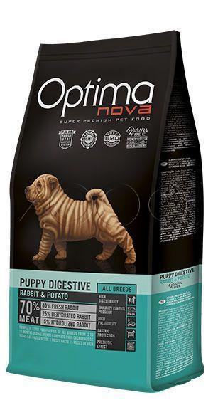 Optima Nova Puppy Digestive Rabbit&Potato