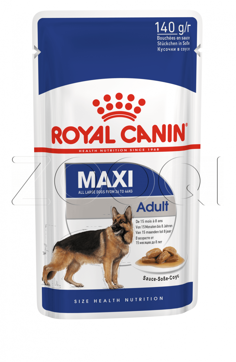 Royal Canin Maxi Adult (в соусе)