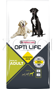 Opti Life Adult Maxi Chicken - 12,5 кг