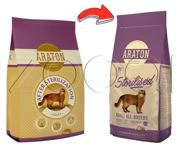 Araton Cat Adult After sterilization 0.4 кг