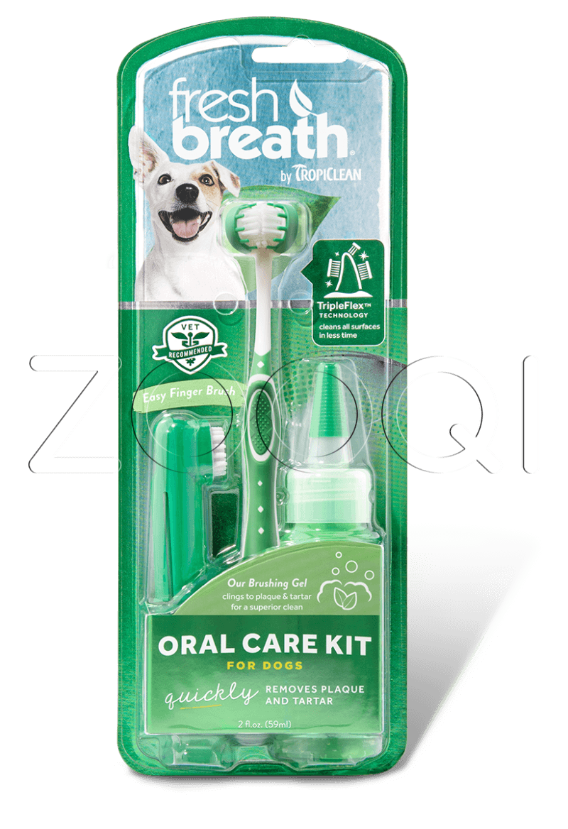 Гигиеническое средство для домашнего животногоFRESH BREATH ORAL CARE KIT LARGE