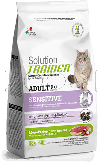 Trainer Solution Sensitive Duck & Pea - 0,3 кг
