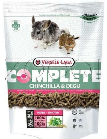 Корм Chinchilla COMPLETE, 500 гр