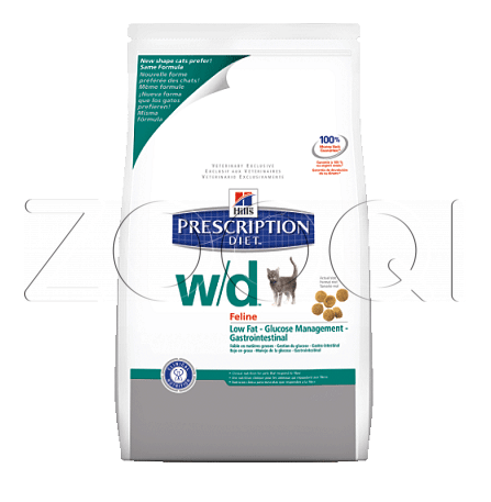 Hills Prescription Diet™ Feline w/d™ - 5 кг