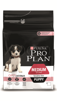 Pro Plan Puppy Sensitive (Лосось, рис)