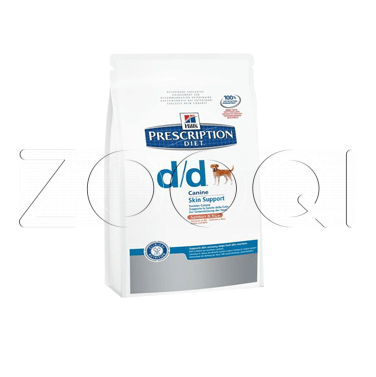 Hills Prescription Diet Canine d/d Salmon & Rice (Лосось, рис)