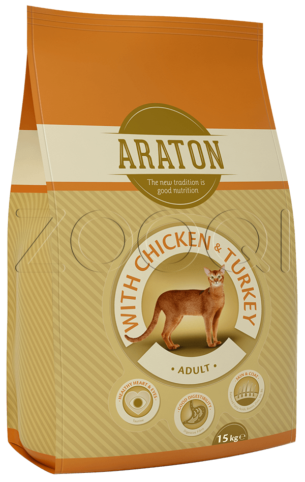 Araton Adult with Chicken & turkey 15 кг