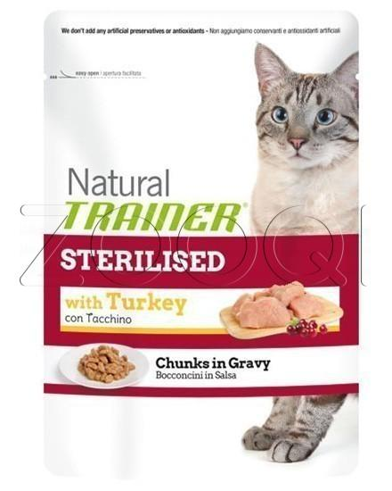 Trainer Natural Pouch Turkey Sterilised - 85 г