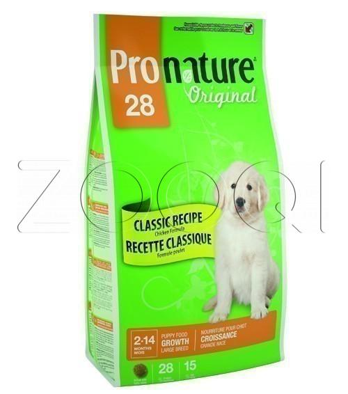 Pronature Original 28 Puppy Large Breeds Chicken