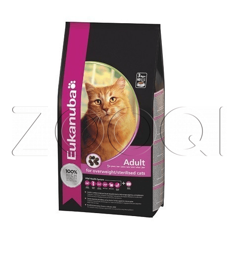 Eukanuba Adult Cat for Overweight / Sterilised Cat