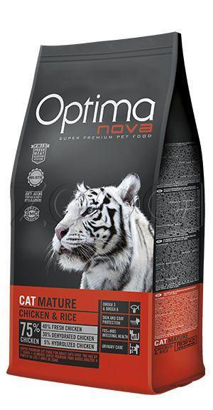 Optima Nova Cat Mature Chicken Rice