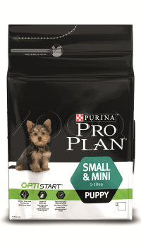 Pro Plan Puppy Small and Mini (с курицей, рис)