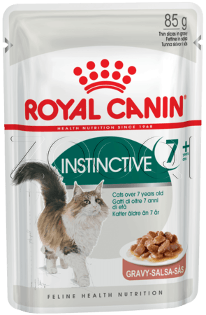Royal Canin Instinctive +7 (в соусе) 85 гр