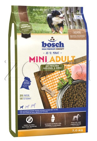 Bosch Mini Adult Poultry&millet (Птица, просо)