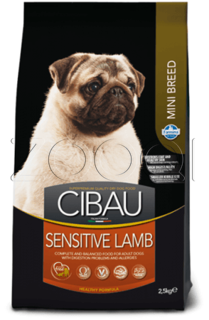 Farmina Cibau Sensitive Lamb Mini (Ягненок) - 0,8 кг