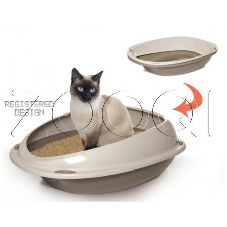 Georplast Лоток Shuttle - lettiera animali 45х36х15.5 см