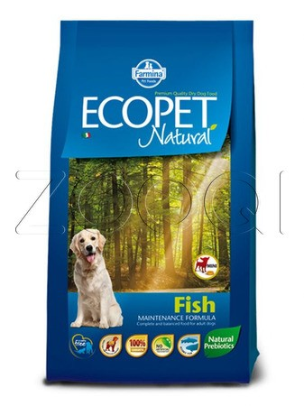 Farmina Ecopet Natural Fisch Mini (Рыба) - 12 кг