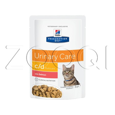 Hill's c/d Multicare Urinary Care с лососем
