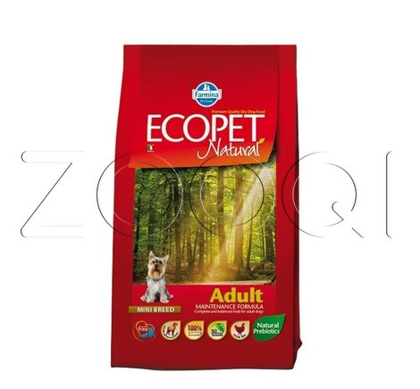 Farmina Ecopet Natural Adult Mini (с курицей)