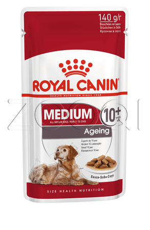 Royal Canin Medium Ageing 10+ (в соусе)