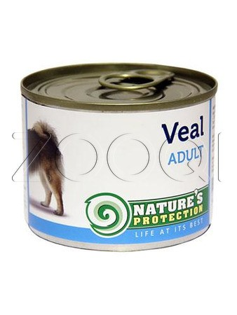 Nature's Protection Dog Adult Veal (Телятина) - 200 гр