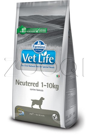 Farmina Vet Life Neutered Dog 1-10 кг